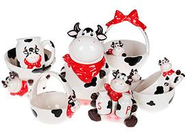 Веселая коровка