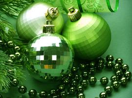 Рождественский зелёный