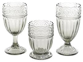 Стеклянные стаканы и бокалы