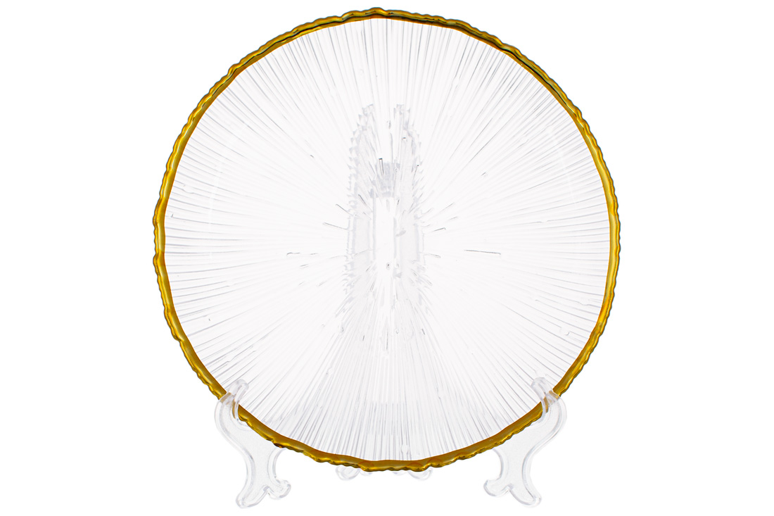 Тарелка стеклянная
