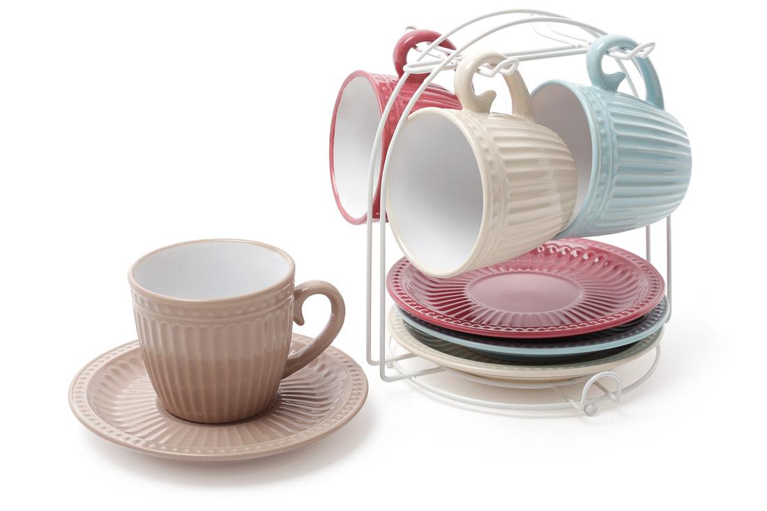 Чайный набор на подставке