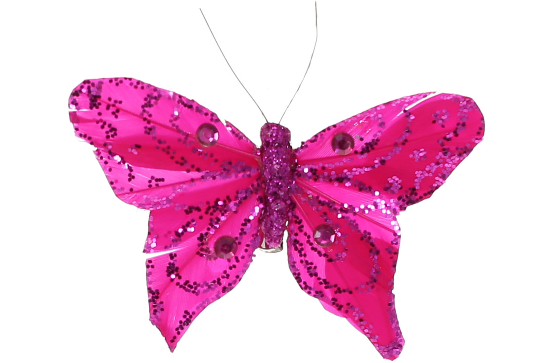 Декоративная бабочка