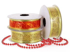 Ленты, банты, ткани для декора